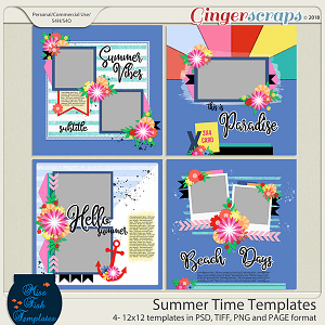Summer Time Templates by Miss Fish
