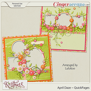 April Daze QuickPages