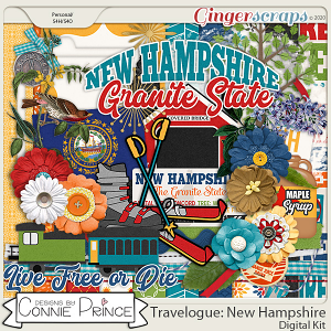Travelogue New Hampshire - Kit by Connie Prince