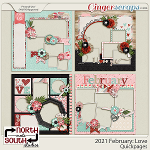 2021 February: Love Quickpages by North Meets South Studios