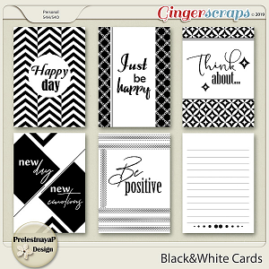 Black&White Cards