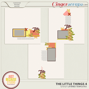 The Little Things 4 Templates by JB Studio