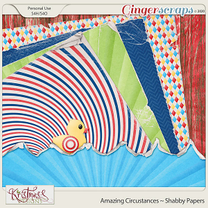 Amazing Circustances Shabby Papers