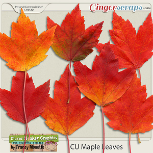 CU Maple Leaves by Clever Monkey Graphics