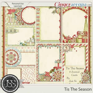 Tis The Season Journal and Pocket Scrap Cards