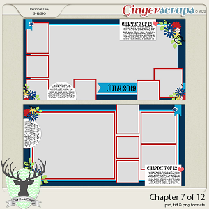 Chapter 7 of 12 Templates by Dear Friends Designs