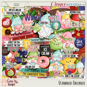 Summer Gnomes Page Kit