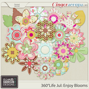 360°Life July: Enjoy Blooms by Aimee Harrison