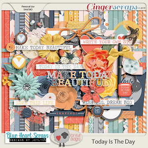 Today Is The Day Kit by Luv Ewe Designs and Blue Heart Scraps