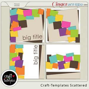 Craft-Templates Scattered