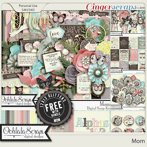 Mom Digital Scrapbook Bundle