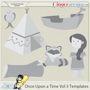 Doodles By Americo: Once Upon a Time Vol 3 Templates