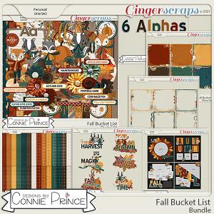 Fall Bucket List  - Bundle by Connie Prince