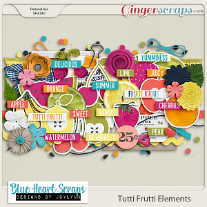 Tutti Frutti Elements