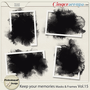 Keep your memories Masks&Frames Vol.15