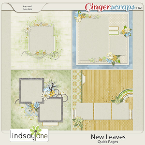 New Leaves Quick Pages by Lindsay Jane