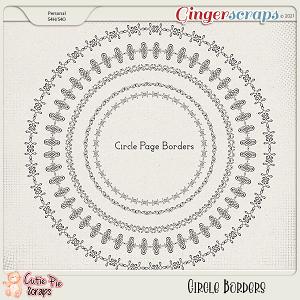 Circle Page Borders 03