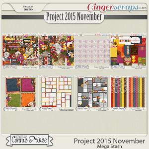 Project 2015 November - Mega Stash