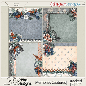 Memories Captured: Stacked Papers by LDragDesigns