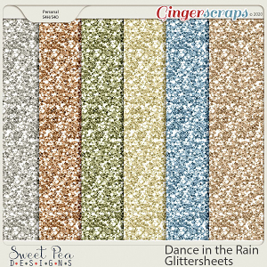 Dance in the Rain Glittersheets