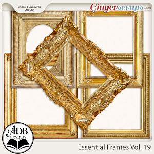 Essential Frames Vol 19 by ADB Designs