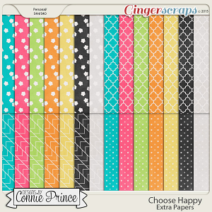 Choose Happy - Extra Papers