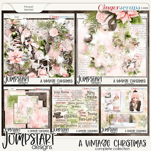 A Vintage Christmas {Complete Collection}
