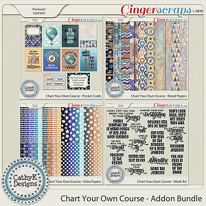 Chart Your Own Course - Addon Bundle by CathyK Designs