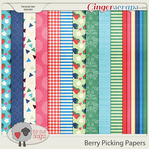 Berry Picking Papers by Luv Ewe Designs