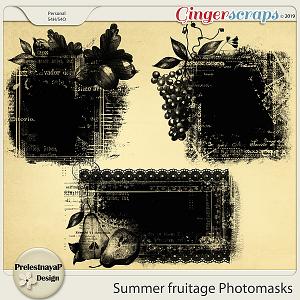 Summer fruitage Photomasks