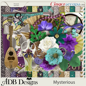 Mysterious Page Kit by ADB Designs