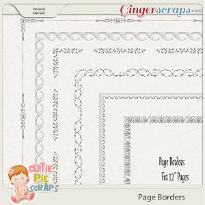 Page Borders 36 By Cutie Pie Scraps