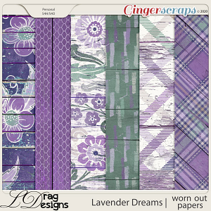 Lavender Dreams: Worn Out Papers by LDragDesigns