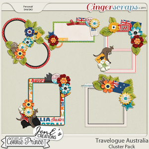 Travelogue Australia - Cluster Pack