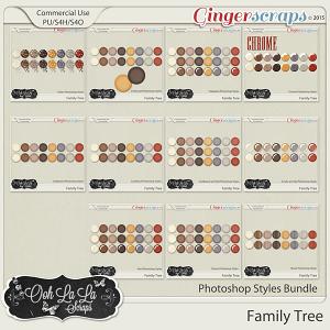 Family Tree Photoshop Style Bundle