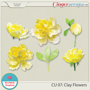 CU 07 - Clay flowers