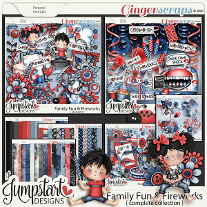 Family Fun & Fireworks {Complete Collection} by Jumpstart Designs