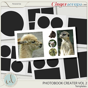 Photobook Creater Vol 2 by Ilonka's Designs
