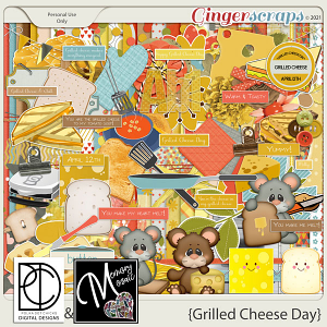 Grilled Cheese Day by Polka Dot Chicks & Memory Mosaic