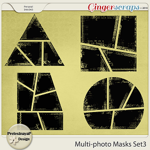 Multi-photo Masks Set3