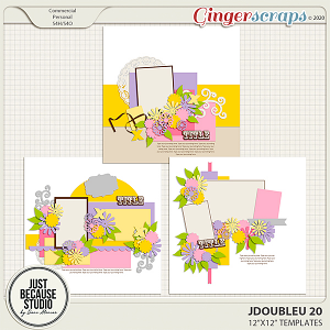 JDoubleU 20 Templates by JB Studio