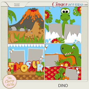 The Cherry On Top:  Dino Templates