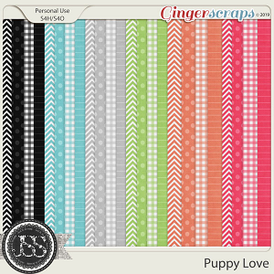 Puppy Love Pattern Papers