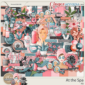 At the Spa Kit by JoCee Designs