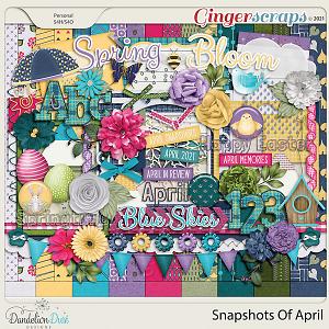Snapshots Of April by Dandelion Dust Designs