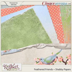 Feathered Friends Shabby Papers