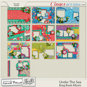 Under The Sea - Brag Book Album