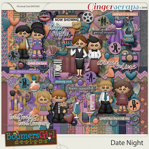 Date Night by BoomersGirl Designs