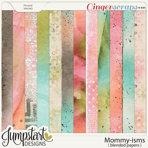 Mommy-isms {Blended Papers} by Jumpstart Designs
