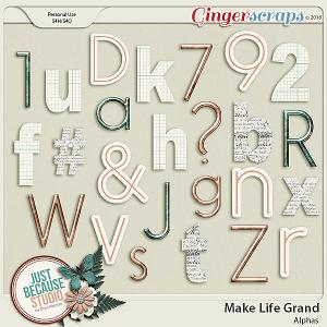 Make Life Grand Alphas by JB Studio